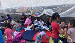 La mitad de migrantes desplazados…