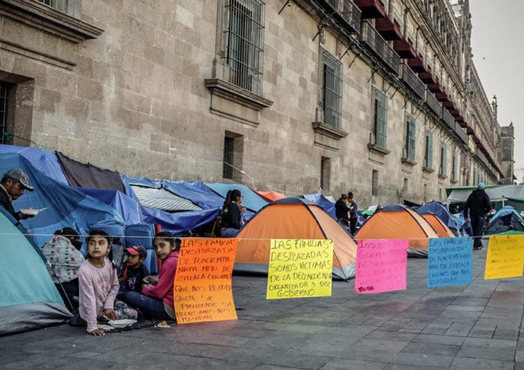 Persiste desplazamiento forzado en Guerrero a un año de la llegada de AMLO