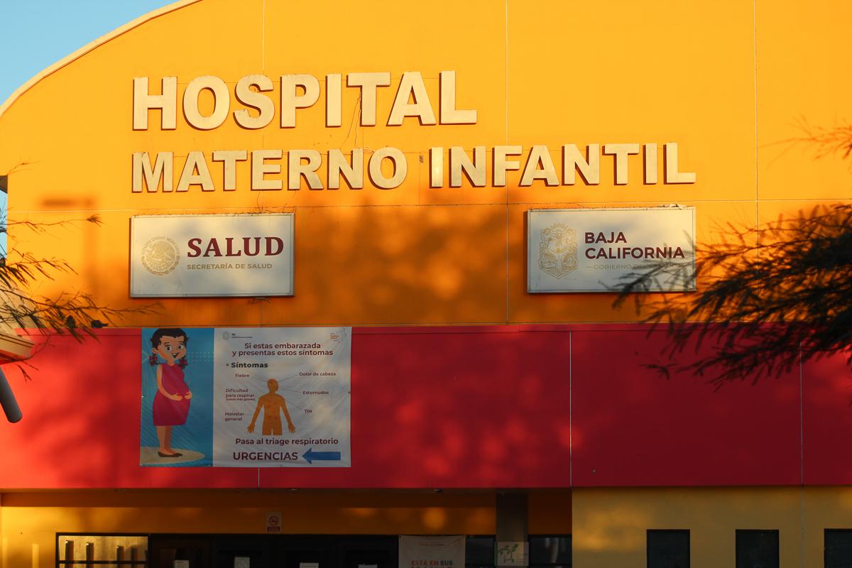 Hospital Materno Infantil de Mexicali, al año 18 mil pacientes se hospitalizan y 28 mil se atienden en la sala de urgencias de este nosocomio.