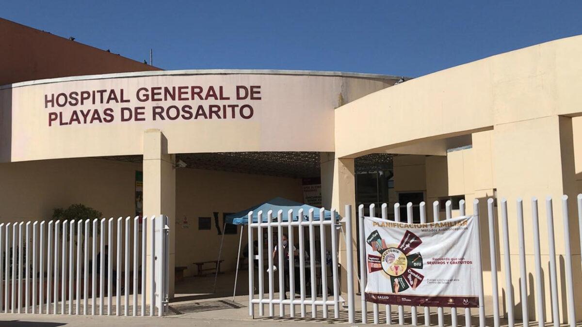 Hospital General de Playas de Rosarito, al año un promedio de 8 mil pacientes se hospitalizan aquí.